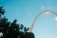 Arco de StLouis en Missouri, América St. Louis es una ciudad situada en el medio de los E.E.U.U. fotografía de archivo