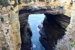 Arco de Tasman Tasmania del este, Australia Imagenes de archivo