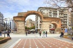 Arco de Tessalónica de Galerius Foto de Stock Royalty Free
