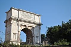 Arco de Titus Fotografia de Stock
