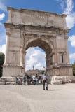 Arco de Titus Imagen de archivo
