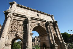 Arco de Titus imagens de stock royalty free