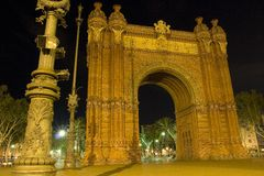 Arco de Triomf fotos de stock royalty free