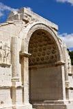 Arco de Triomphal em Glanum imagem de stock royalty free