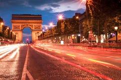 Arco de Triomphe imagem de stock