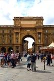 Arco de Triumph em Florença - Itália Fotografia de Stock Royalty Free
