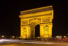 Arco de Triumph, Paris Imagens de Stock Royalty Free