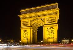 Arco de Triumph, Paris Fotos de Stock