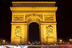 Arco de Triumph, Paris Fotos de Stock Royalty Free
