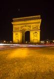 Arco de Triumph, Paris Foto de Stock Royalty Free