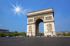Arco de Triunfo foto de stock royalty free