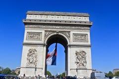 arco de troimphe Foto de Stock Royalty Free