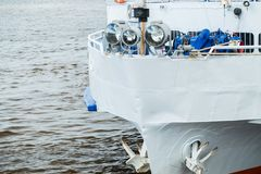 Arco de una nave del transbordador Imagen de archivo libre de regalías