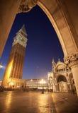 Arco de Venecia Foto de archivo libre de regalías