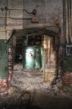 Arco decaído del ladrillo imagen de archivo