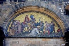 Arco decorato Fotografia Stock Libera da Diritti