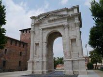 Arco dei Gavi στη Βερόνα στην Ιταλία Στοκ Φωτογραφία