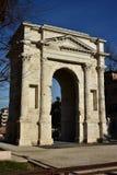 Arco dei Gavi. Ancient triumph arch in the center of Verona, Italy Stock Images