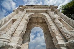 Arco dei Gavi, Verona, Italien Fotografering för Bildbyråer