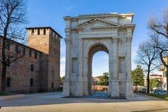 Arco dei Gavi w Verona Obrazy Royalty Free