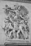 Arco del â Le Triomphe di trionfo Fotografie Stock Libere da Diritti
