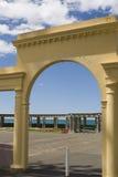 Arco del art déco Foto de archivo