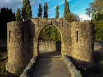 Arco del castillo imágenes de archivo libres de regalías