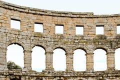 Arco del coliseo Imágenes de archivo libres de regalías