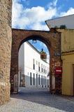 Arco del Cubo e torre della chiesa di Candelaria Fotografia Stock
