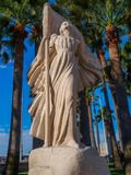 Arco del ` di Jeanne D della statua fotografia stock libera da diritti