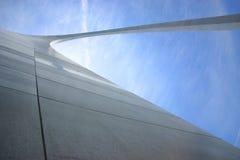 Arco del Gateway da sotto Fotografia Stock