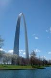 Arco del Gateway de St. Louis imagen de archivo