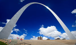 Arco del Gateway di St. Louis Fotografia Stock