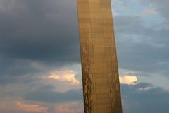 Arco del Gateway en St. Louis Foto de archivo
