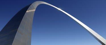 Arco del Gateway - St. Louis - Missouri - S.U.A. Fotografie Stock Libere da Diritti
