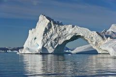 Arco del ghiaccio Immagine Stock
