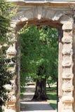 Arco del giardino Fotografia Stock Libera da Diritti