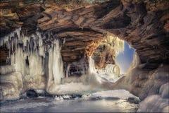 Arco del hielo Fotografía de archivo