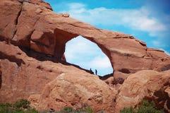 Arco del horizonte Fotos de archivo libres de regalías