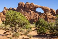 Arco del horizonte Fotografía de archivo