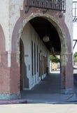 Arco del hotel Fotografía de archivo