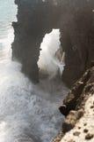 Arco del mar de Holei Imagen de archivo