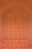 Arco del mattone come priorità bassa Immagini Stock