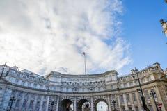 Arco del Ministerio de marina Fotos de archivo