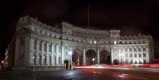 Arco del Ministerio de marina en Londres Foto de archivo