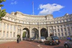 Arco del Ministerio de marina en Londres fotos de archivo libres de regalías