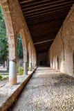 Arco del monastero di Ayia Napa, Cipro Fotografia Stock
