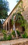 Arco del monastero di Ayia Napa, Cipro Fotografia Stock Libera da Diritti
