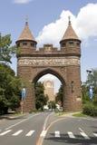 Arco del monumento de Hartford Fotos de archivo