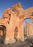 Arco del monumento, Palmyra, Siria Imágenes de archivo libres de regalías